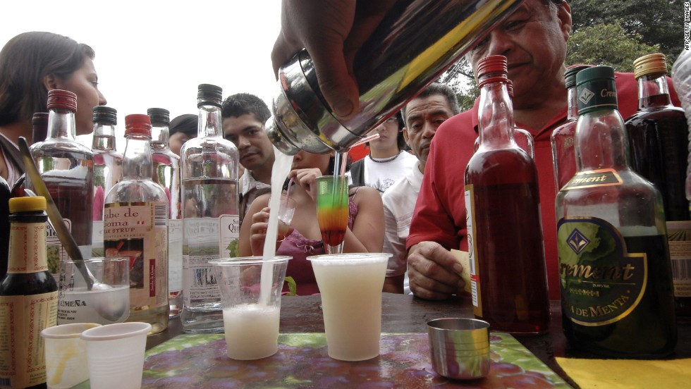 Peru's beverage of choice is pisco, a brandy made from grapes. It's usually consumed in cocktail form, meaning other ingredients largely hide its nuances, which can be a good thing for novices unaccustomed to pisco's blowtorch nuances.