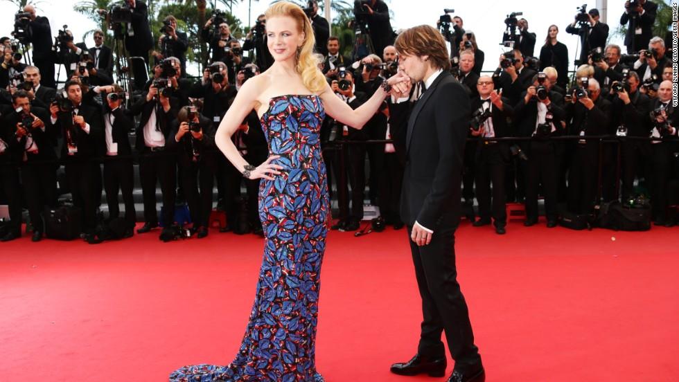 "Nicole Kidman and Keith Urban attend the ""Inside Llewyn Davis"" screening on May 19."