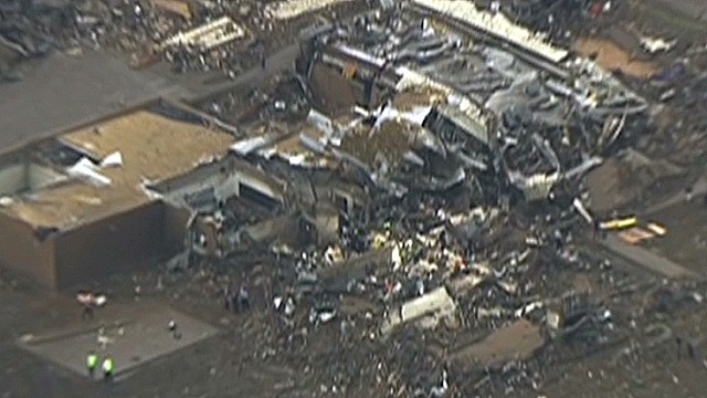 Tornado levels elementary school