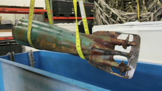 Dolphin locates rare torpedo from 1880s