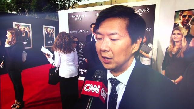 Jeong, Galifianakis talk 'Hangover III'