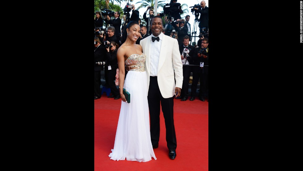 "Chris Tucker attends the Cannes premiere of ""Cleopatra"" on May 21."
