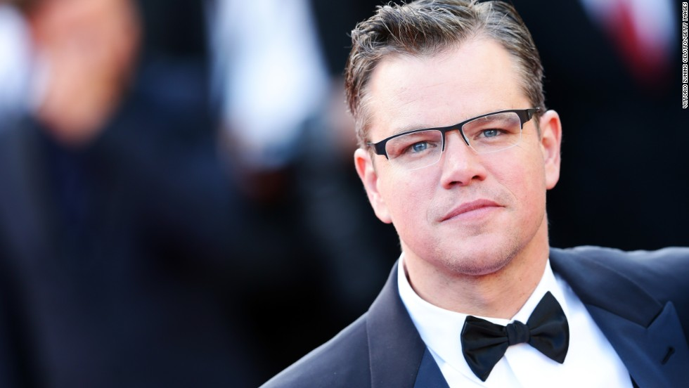 "Matt Damon attends the Cannes premiere of ""Behind the Candelabra"" on May 21."