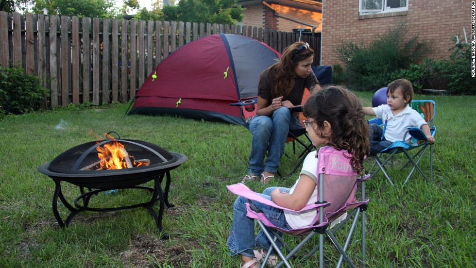 "If you're a camping novice, consider signing up for the National Wildlife Federation's <a href=""http://www.nwf.org/great-american-backyard-campout.aspx"" target=""_blank"">Great American Backyard Campout </a>and learning how to do it."