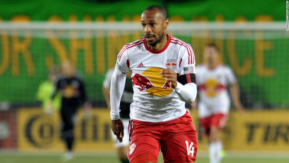 Former French international star Thierry Henry is the star player at the only current MLS franchise in the Big Apple, the New York Red Bulls.
