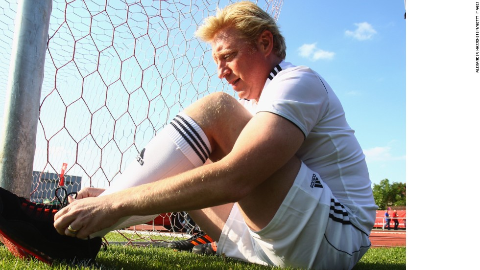 Six-time grand slam tennis champion Boris Becker, who once sat on the Bayern board, believes hosting the 2006 World Cup transformed his country's image.