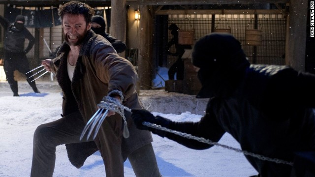 "Hugh Jackman as Wolverine will be the central character in ""X-Men: Days of Future Past."""