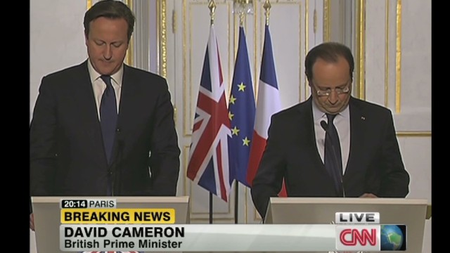 Cameron: Strong indication of terrorism