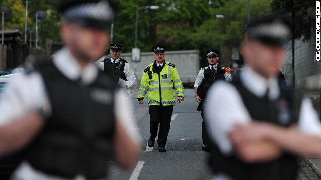 Deadly attack near London barracks