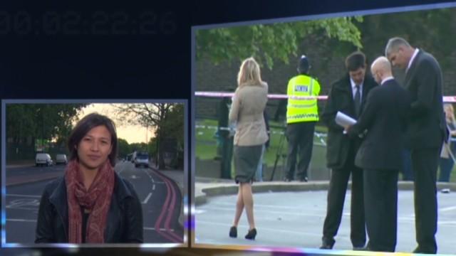 London suspects shot, taken to hospital