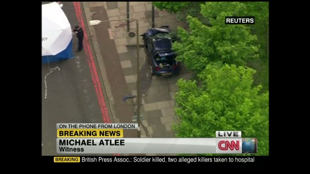 London attack: Eyewitness heard gunshots