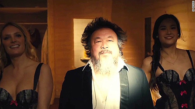 Ai Weiwei debuts music video