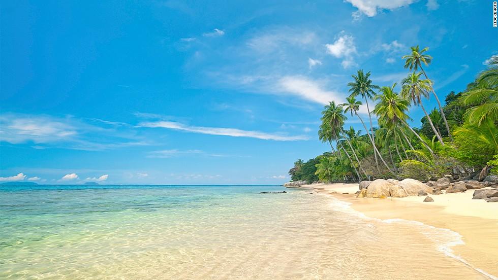 13. Pulau Perhentian Kecil, Malaysia