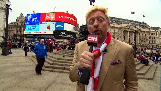 Boris Becker: A champion's London tour