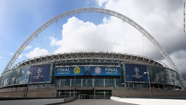 The Champions League final is being staged in London where security has come into focus ahead of the big match