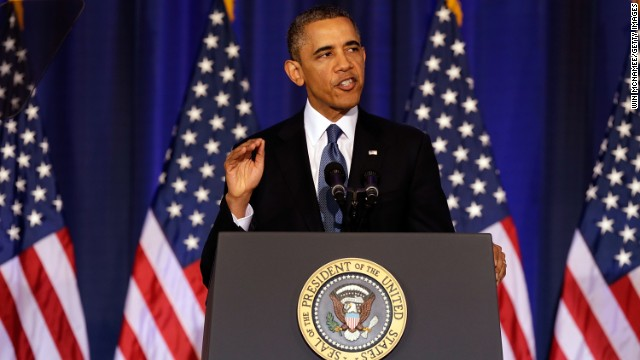 Pres. Obama interrupted by heckler