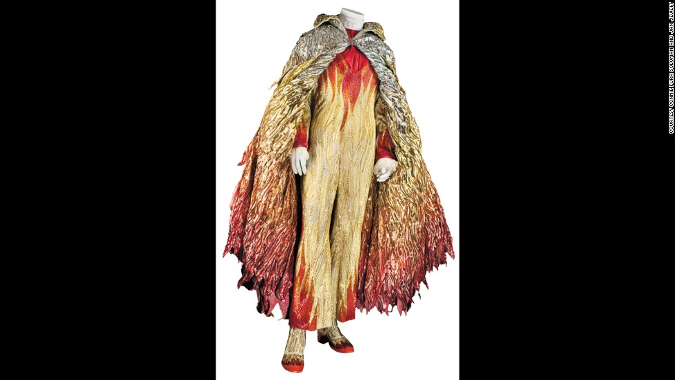 "Liberace's ""flame"" costume"