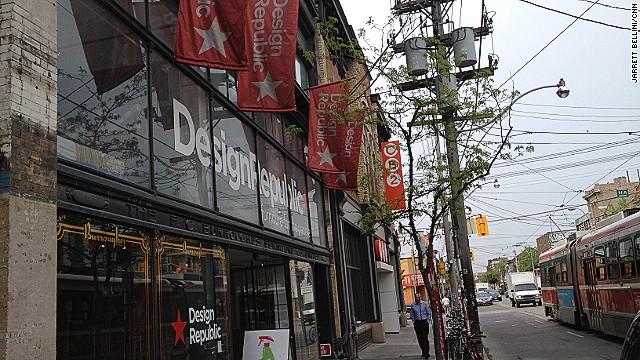 Got wood? DesignRepublic on Queen Street in Toronto is the home of Stumpy.