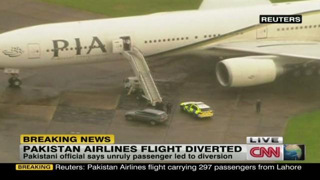 Airline: Unruly passenger diverts plane