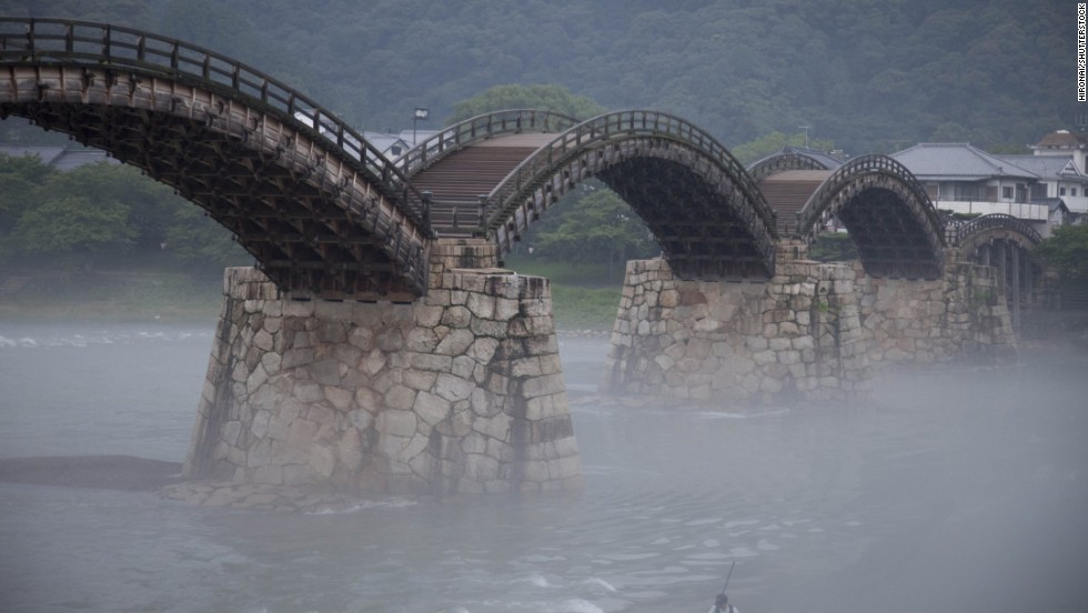 Kintai Bridge, Iwakuni, Japan.