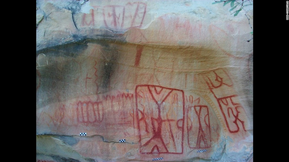 The ages of the cave paintings remain uncertain for now because archaeologists have not found any objects in the area that could help date them, archeologists say.