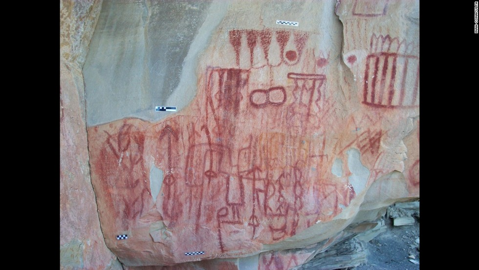 Drawings of what appear to be teepees, local plants and animals like deer, lizards and centipedes can tell researchers about how the populations lived.