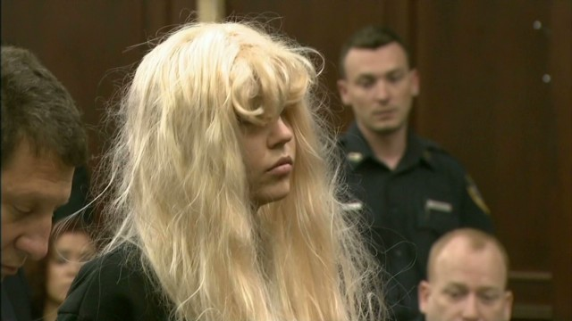 Actress Amanda Bynes appears in court