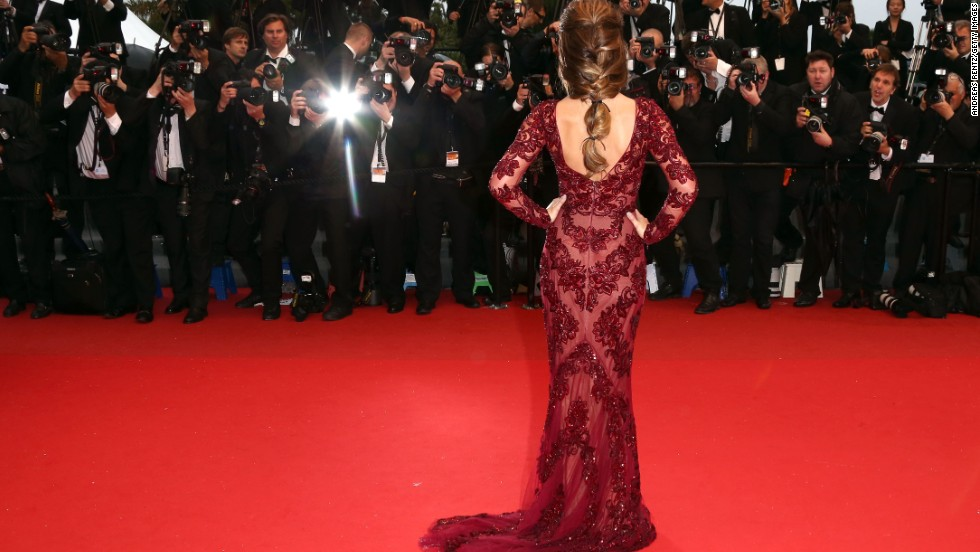 """U.K. singer Cheryl Cole attends the Cannes screening of """"Jimmy P. Psychotherapy of a Plains Indian."""""""