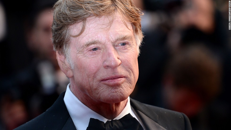 """Robert Redford arrives at the Cannes premiere of """"All Is Lost"""" on May 22."""