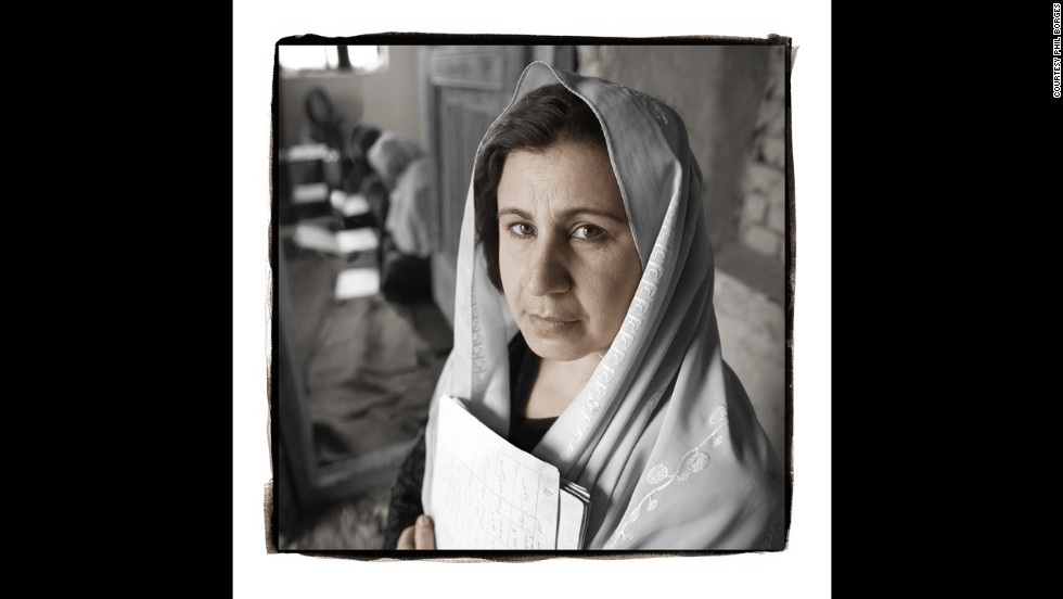 <strong>Fahima, 38 (Kabul, Afghanistan)</strong><br />Fahima, a teacher since 1985, was one of the thousands of professional women who lost their jobs when the Taliban came to power in Afghanistan. But in defiance of the Taliban and at great risk to herself, Fahima opened a clandestine school for young girls. At one point, 130 girls were coming to her home each week to study math, science and Pashto. Fahima was harassed by religious police and threatened with beatings and worse, but she operated her school until the Taliban's fall.