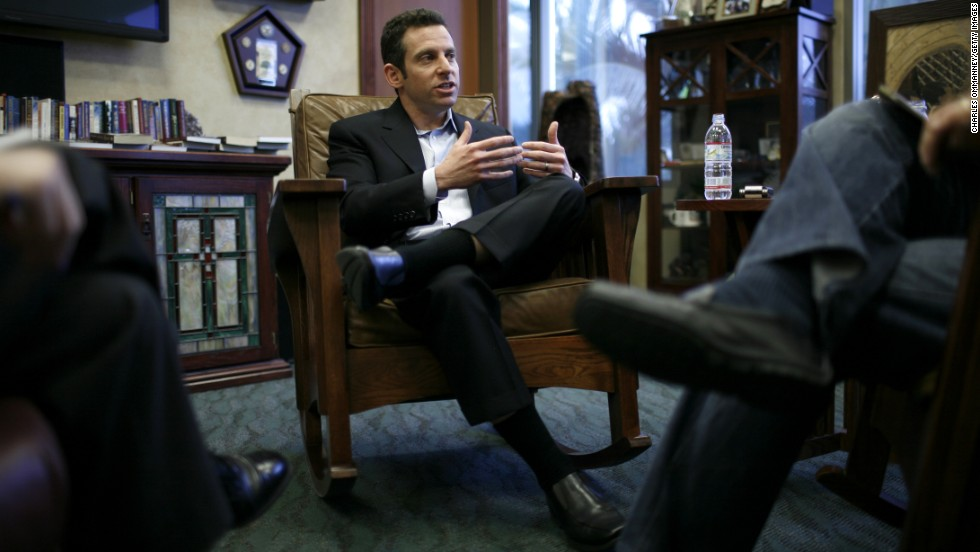 "Neuroscientist and author Sam Harris is a well-known atheist and a vocal critic of religion. In ""<a href=""http://books.google.com/books?id=V1NXG1ob-WcC"" target=""_blank"">The End of Faith</a>,"" he wrote, ""We will see that the greatest problem confronting civilization is not merely religious extremism: rather, it is the larger set of cultural and intellectual accommodations we have made to faith itself."""