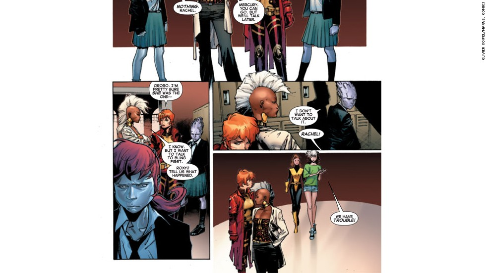 "The new team is made up of popular established female characters, a testament to the strong women in ""X-Men"" history."