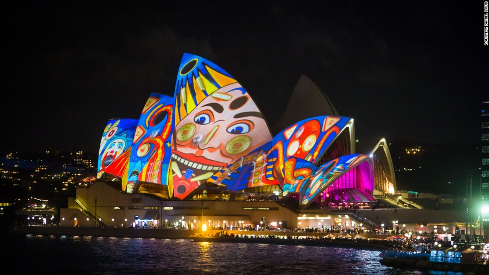 Australia launched the Significant Investor Visa program in November 2012. The scheme targets high-worth individuals and asks for $4.7 million in investment. After four years, holders can apply for permanent residency. Citizenship is also possible. Here, the Sydney Opera House explodes in color at Vivid Sydney 2013.