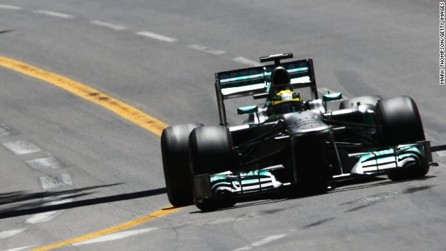 Mercedes' Nico Rosberg won an incident filled Monaco Grand Prix ahead of Sebastian Vettel and Mark Webber.