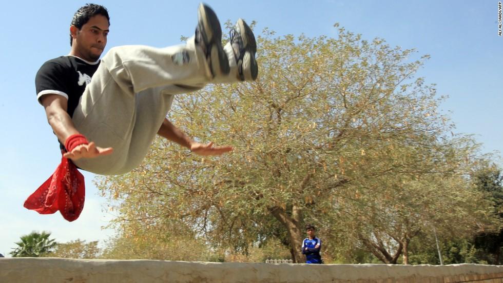 iraq parkour 5