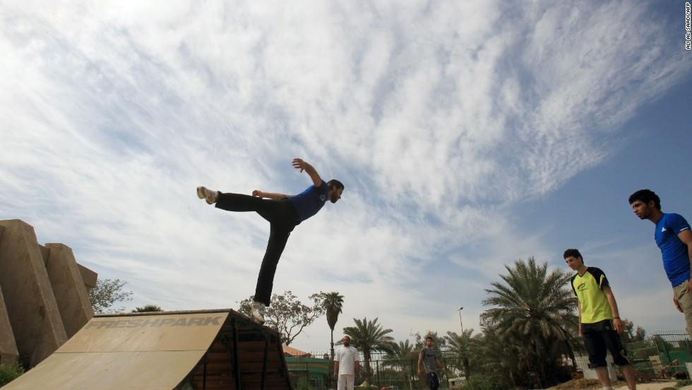 iraq parkour 7