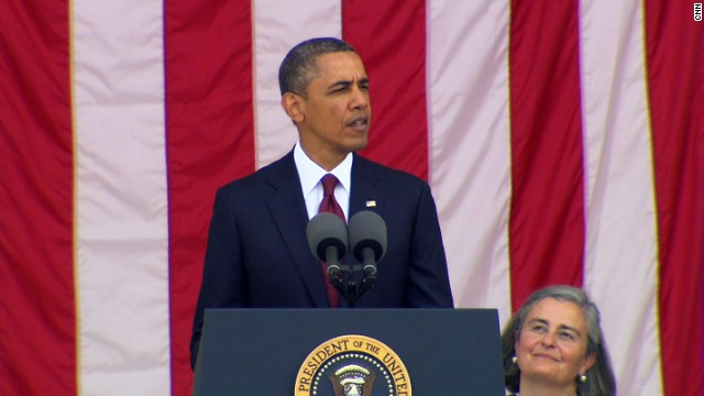 President Obama's Memorial Day speech