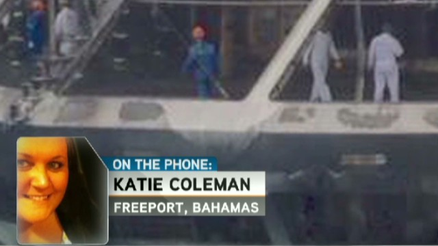 Cruise passengers avoid disaster