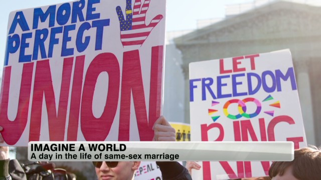 A day in the life of same-sex marriage