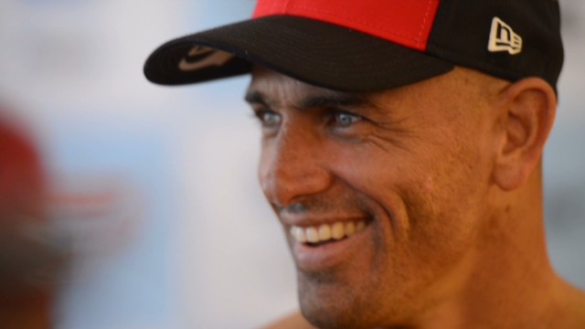 Surfing king's search for perfect wave