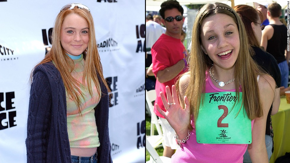 """Both broke out as child stars, Lohan as the star of 1998's """"The Parent Trap"""" and Bynes as a regular on the late 1990s Nickelodeon show """"All That"""" and later star of that network's """"The Amanda Show."""""""