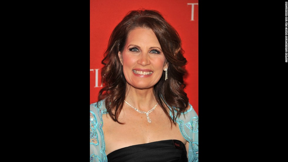 "Bachmann attends the Time 100 Gala at Lincoln Center in New York in April 2011. The magazine <a href=""http://www.time.com/time/specials/packages/article/0,28804,2066367_2066369_2066474,00.html"" target=""_blank"">named her one of the 100 most influential people </a>in the world that year."