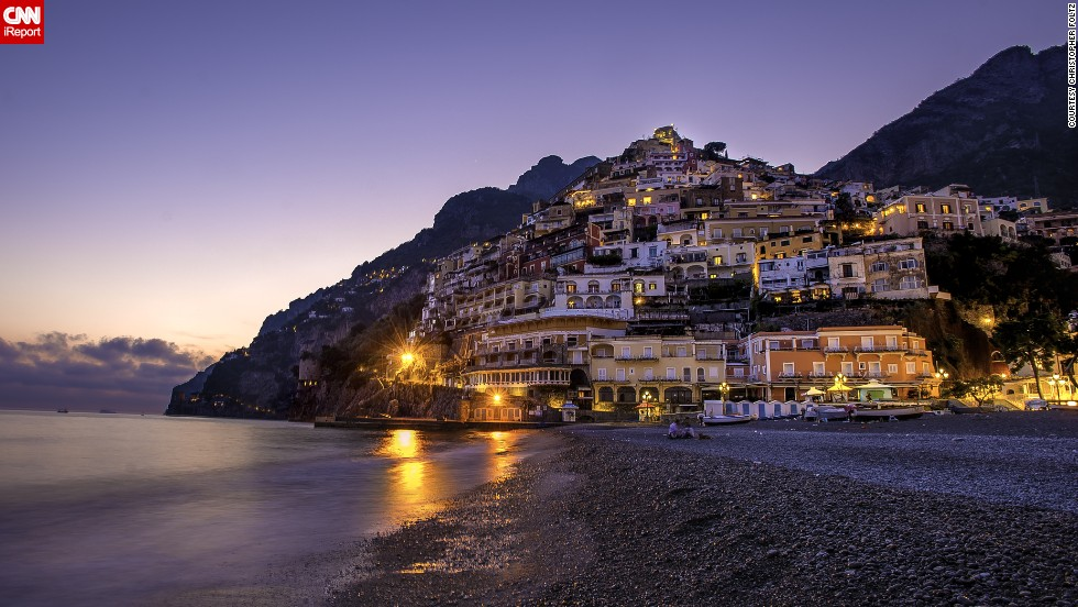 "While on a second honeymoon in Europe, <a href=""http://ireport.cnn.com/docs/DOC-921855"">Christopher Foltz</a> and his wife visited Positano off the Amalfi Coast of Italy. ""I had never been to Europe and my wife has been to Italy several times, but never to the Amalfi Coast,"" he said. ""So this was something we were able to share together, a new moment."""