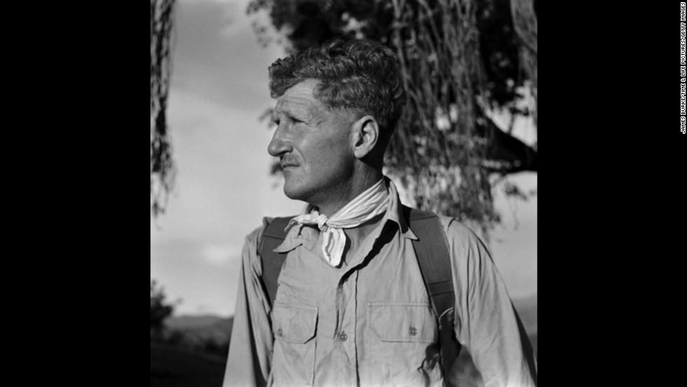 John Hunt, later Sir John Hunt, led the 1953 Everest expedition.