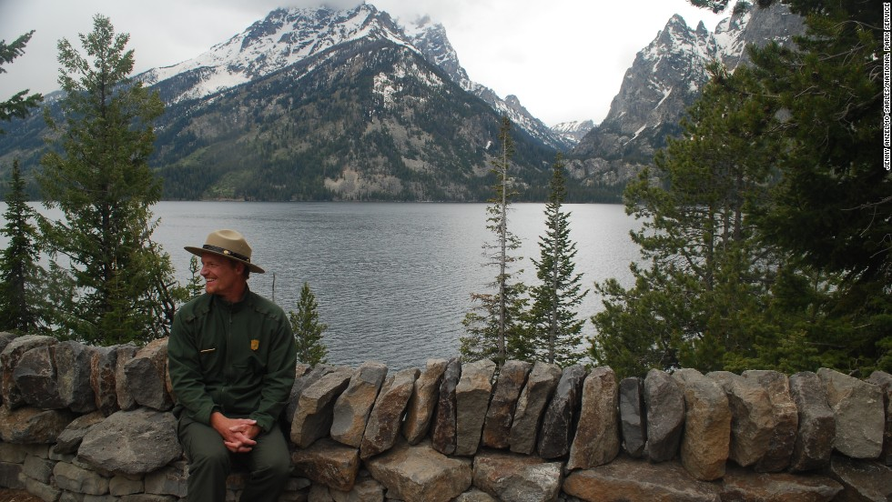Park ranger Brian Bergsma, shown here at Jenny Lake, shares his favorite spots at Grand Teton National Park.