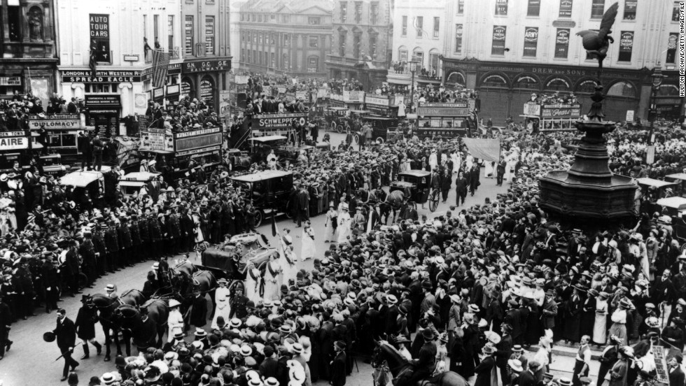 "Four days after she dashed onto the track, Davison died in hospital. Her funeral procession through the streets of London had all the appearances of a state funeral. ""Few people are given to that sort of sacrifice, in private or public life, and they are usually reviled or ignored while they live. But it is they who change the course of history - who make history itself,"" said British journalist Melissa Benn."