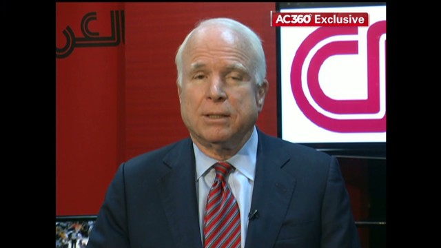 McCain: Syria trip intensified feelings