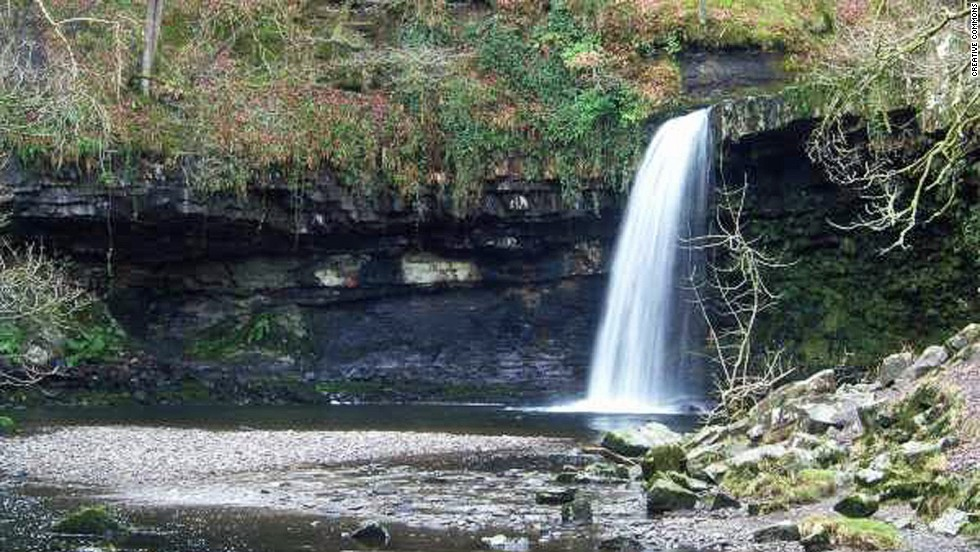 Author and skinny dipping connoisseur Kate Rew recommends this remote waterfall in the Brecon Beacons as one of the must-dip places in all of Britain.