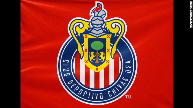 The emblem of the Los Angeles area-based Chivas soccer team is pictured above.