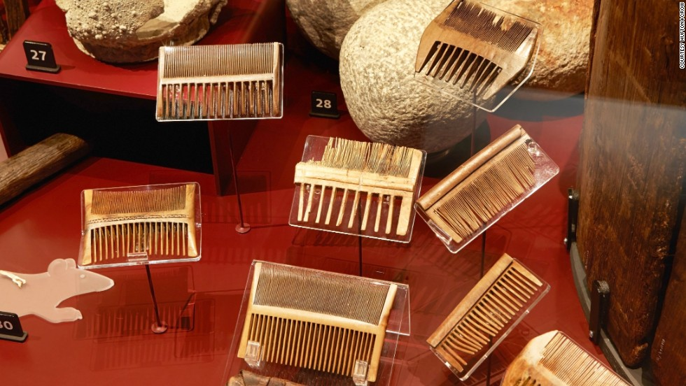 More than 80 combs were recovered from the Mary Rose, many with their owners, suggesting they were important items. The combs were used to remove nits and fleas -- some of those recovered still have the remains of nits visible on the teeth.